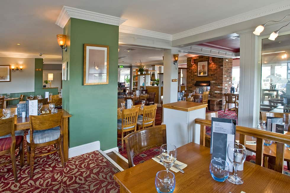 The Rubbing House Restaurant Interior Pub Epsom Downs