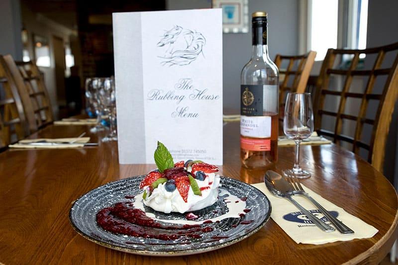 Pavlova Dessert Epsom Rubbing House